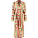 Cawö dames badjas badstof multicolor maat 40